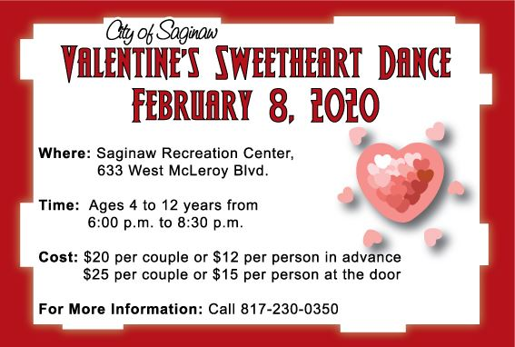 Valentine Dance Flyer 2020