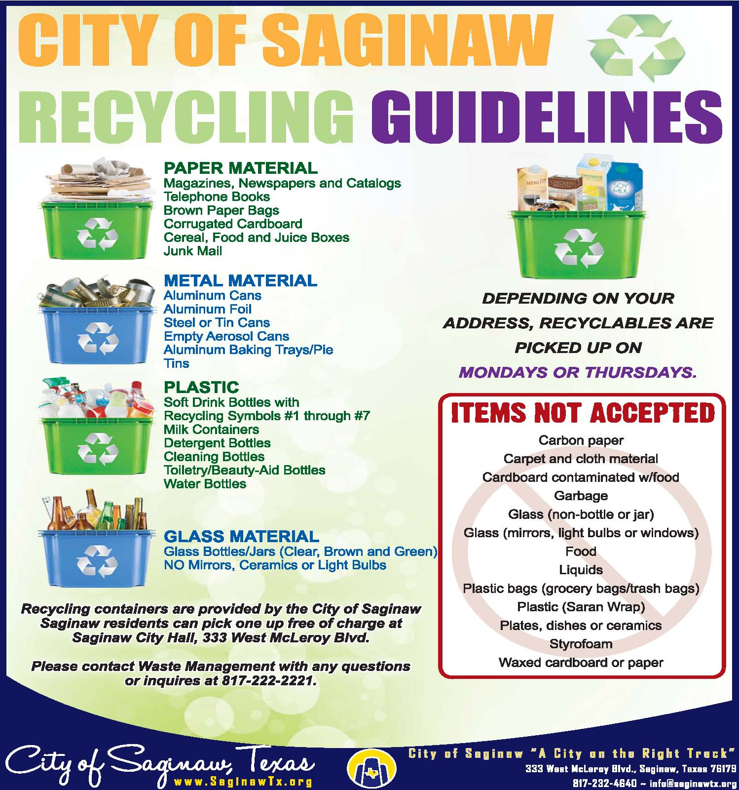 NEW Recycling Rules 091420