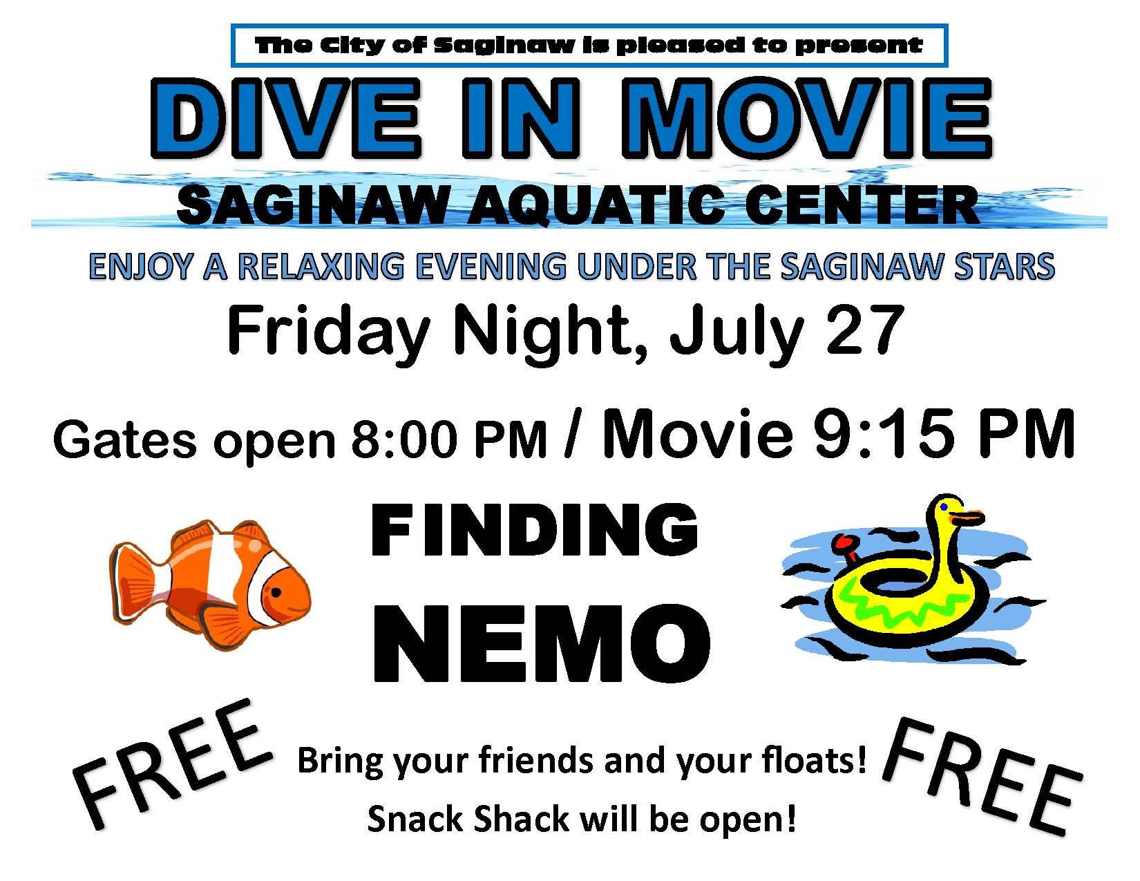 Dive in Movie July