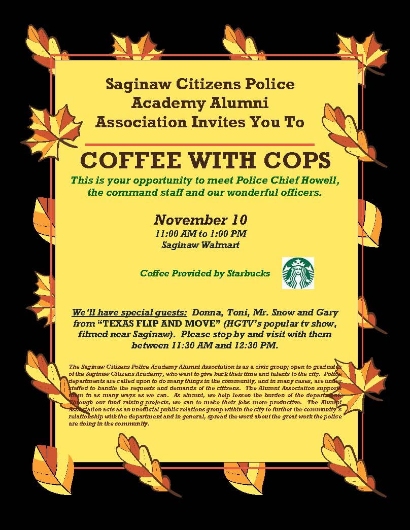 coffee with cops 111018