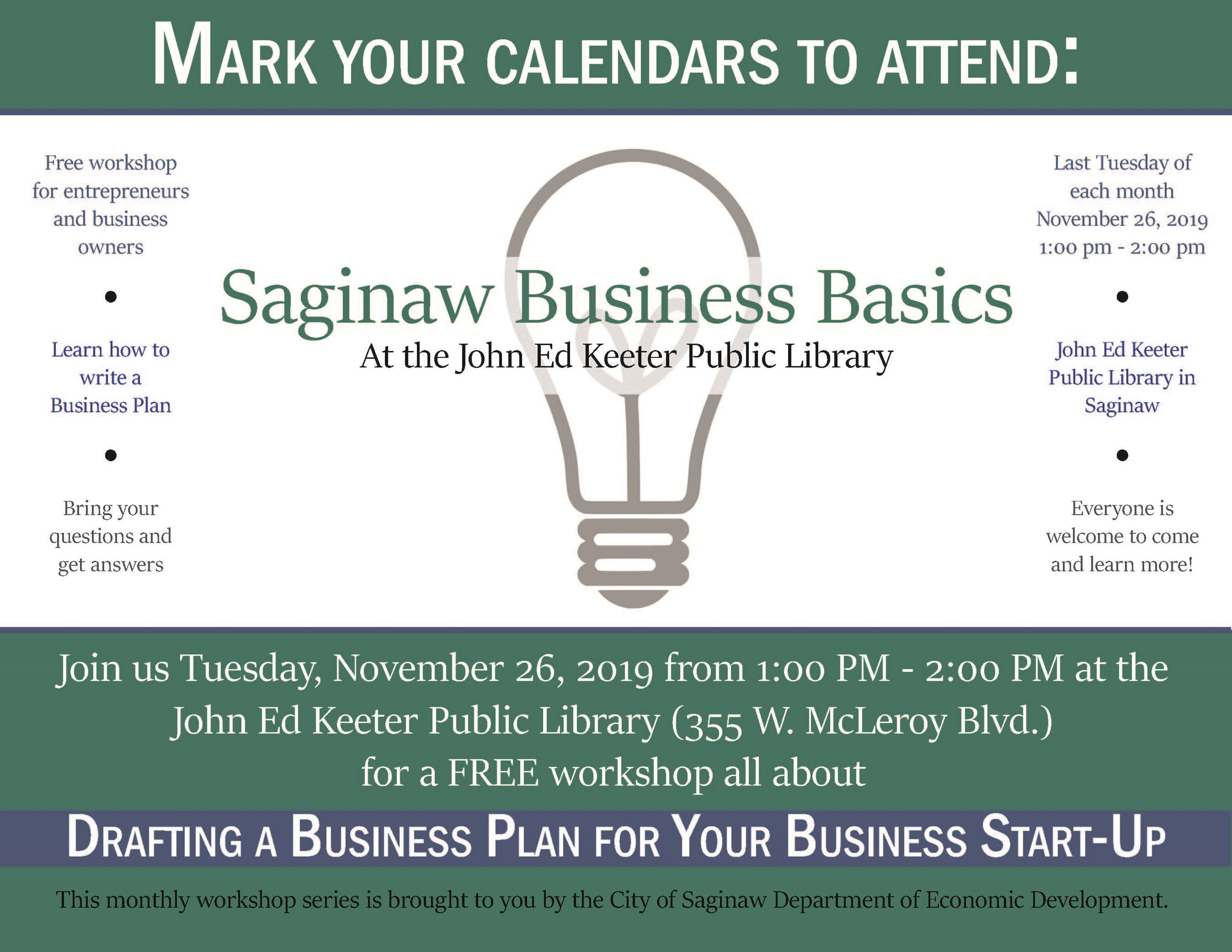 Saginaw Business Basics November 2019